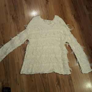 Women's Fringe Sweater